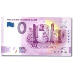Billet souvenir Dalí 2021