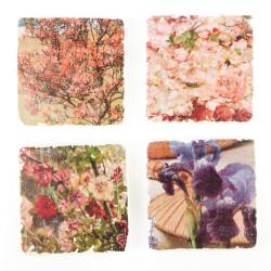 Plaques de marbre Fleurs