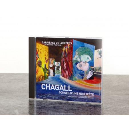 CD Bande Originale spectacle Monet, Renoir, Chagall. Voyages en Méditerranée