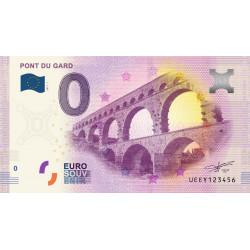 Billet souvenir Pont du Gard