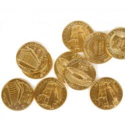 Jetons touristiques Monnaie...