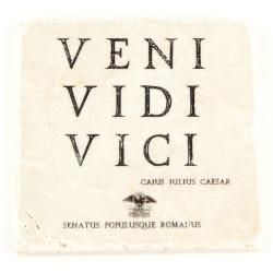 Marble slab Veni, Vidi, Vici