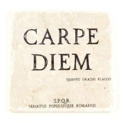 Marble slab Carpe Diem