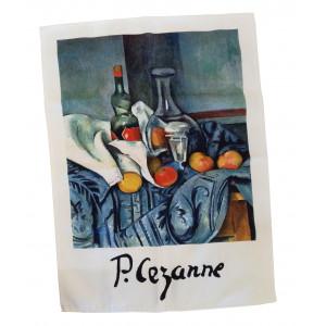 Torchon Nature morte Cezanne