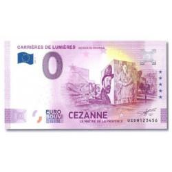 Billet souvenir Cezanne 2021