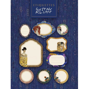 Cahier étiquettes Gustav Klimt