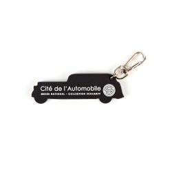 Porte-clés rétro noir
