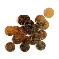 Tourist tokens Monnaie de Paris