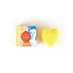 Heart shaped perfumed soap