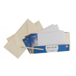 Set of correspondence cards...