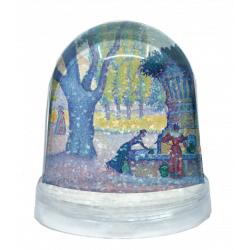 Snow globe - Paul Signac