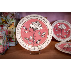 Pink Plate Villa Ephrussi...